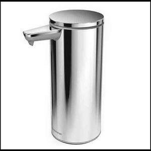 SIMPLEHUMAN   SENSOR HAND SOAP PUMP RECHARGEABLE